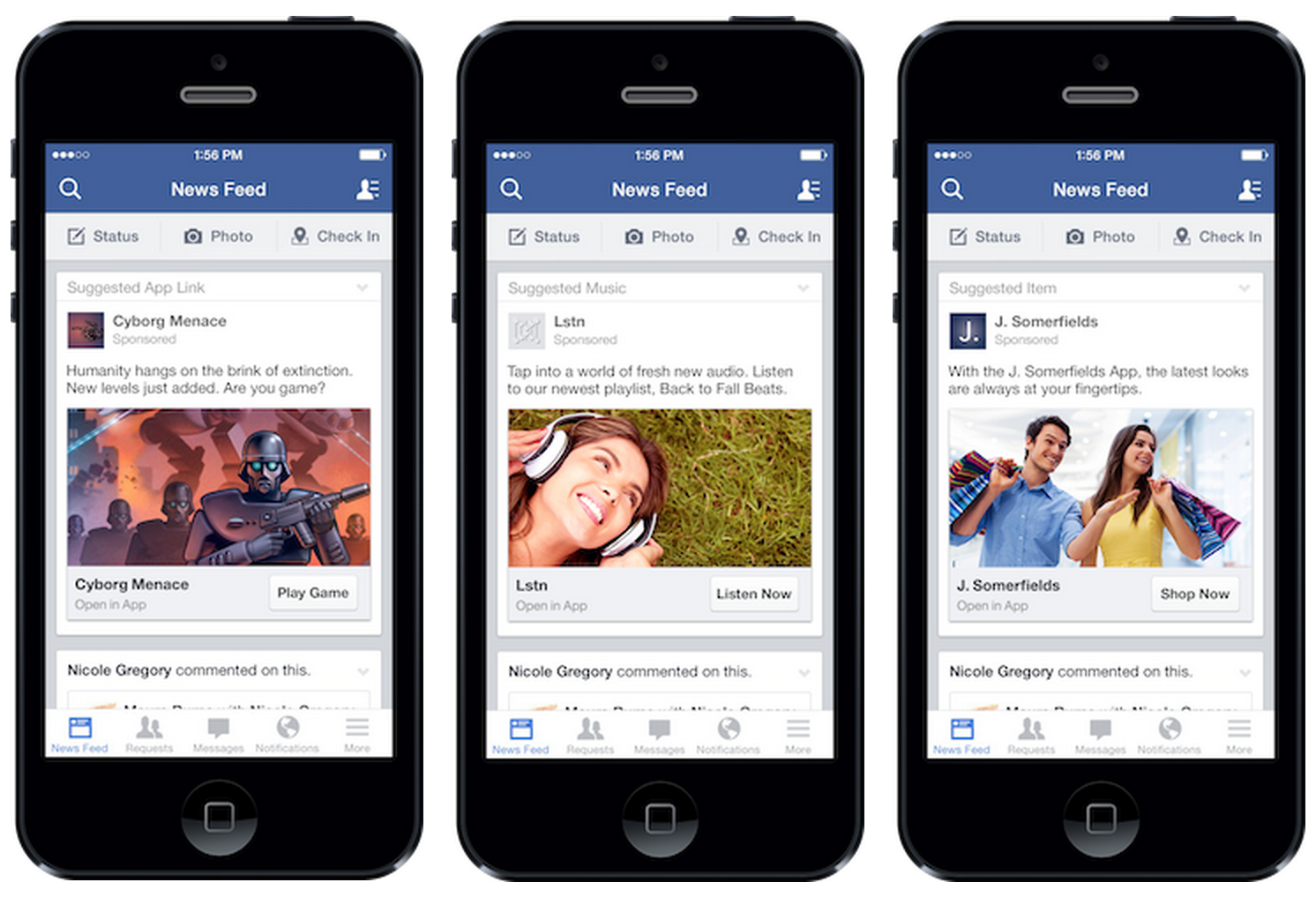 Mockup App Skiilight Interactive Facebook S Four Rules For Going Mobile