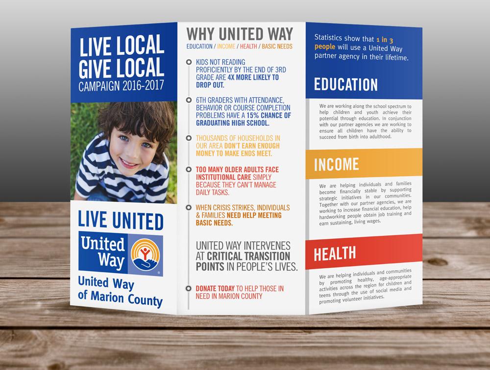 United Way Marion County Brochure